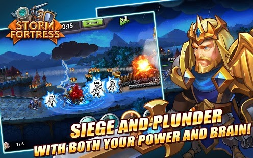 Storm Fortress Gods Clash Android App for PC/ Storm Fortress Gods Clash on PC