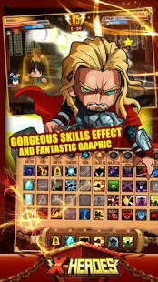 Download X-Heroes ANDROID APP for PC/X-Heroes ON PC