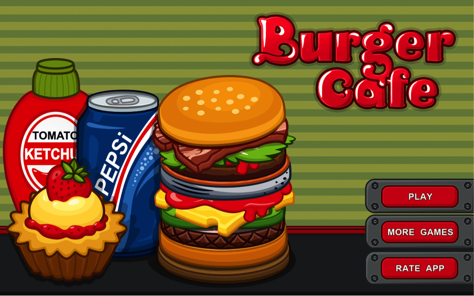 Download Burger Café 2 Android App for PC/ Burger Café on PC