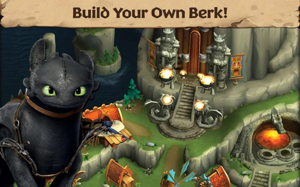 Download Dragons Rise of Berk Android App for PC/Dragons Rise of Berk on PC
