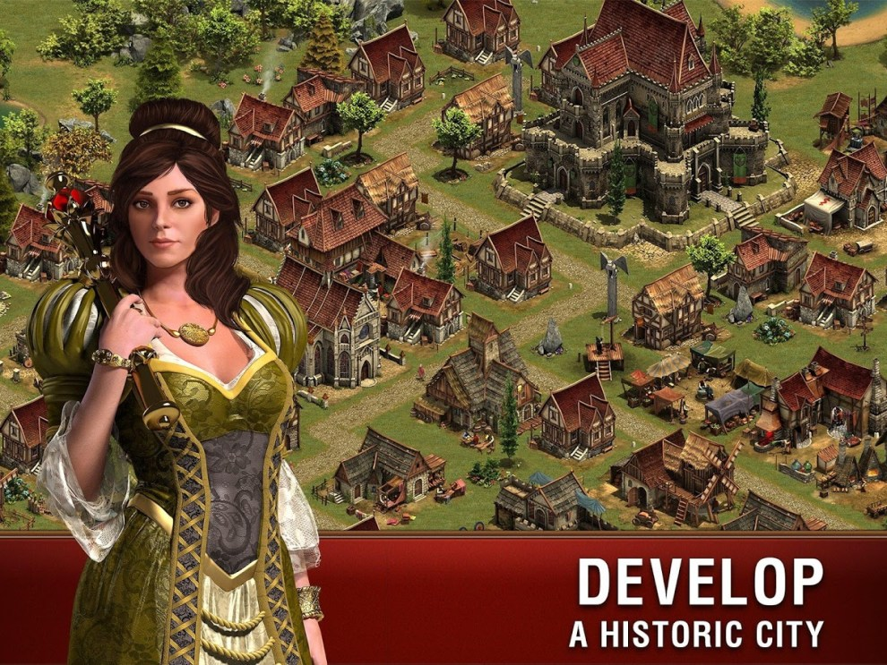 Download Forge of Empires Android App for PC/ Forge Of Empires on PC