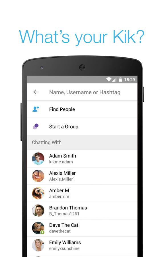 Download Kik Android APK