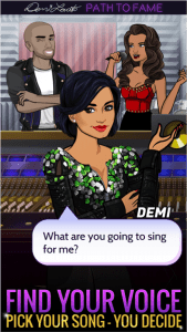Demi Lovato Path to Fame Android App for PC/Demi Lovato Path to Fame on PC