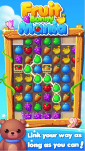 Fruit Bunny Mania Android App For PC / Fruit Bunny Mania on PC