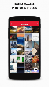 nstasize Post Entire Photos Android App For PC / Instasize Post Entire Photos On PC