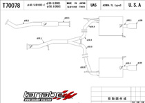 exhaust systems for acura tl at andy s