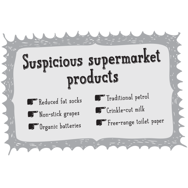 Suspicious Supermarket Products