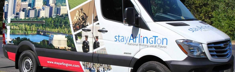 Stay Arlington Van Wrap