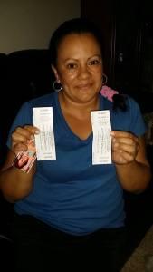 Ganadora tickets para ver maelo ruiz y tito rojas