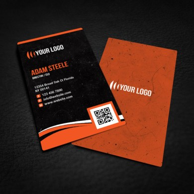 40  Best FREE Business Card Templates in PSD File Format Free Rounded Corner Business Card Design