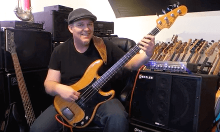 HD – Genzler Magellan 800 head & Bass Array cabs – Andy Irvine