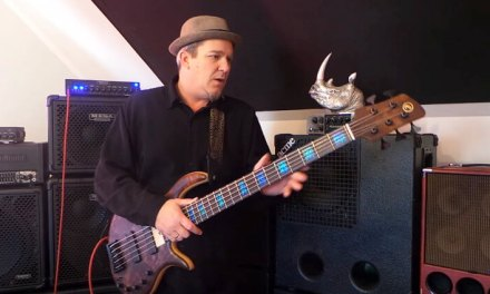 HD – Elrick Evolution – Custom 5 string Bass Demo – Andy Irvine