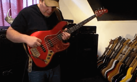 USA G&L JB4 Bass with Nordstrand/Sadowsky – Andy Irvine