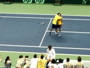 Melo and Soares defeat the Bryan Brothers in Davis Cup play