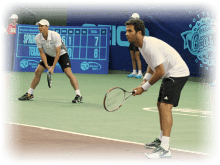 Rojer and DeVoest are 5-0 together in Mens Doubles