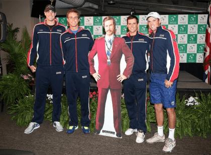John, Sam, Ron, Mike and Bob - Photo: @USTA_TimCurry