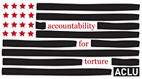"The logo of the ACLU's ""Accountability for Torture"" project"