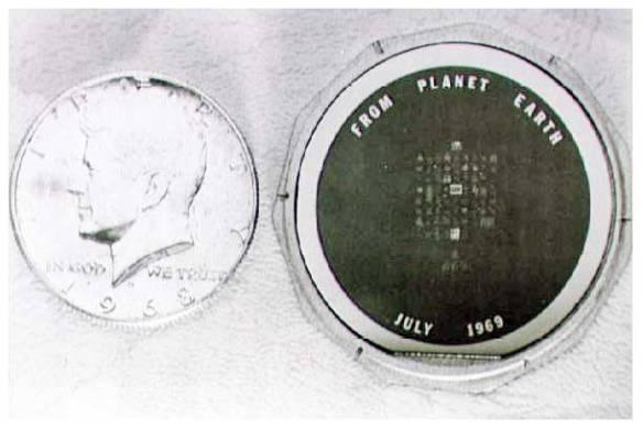 Disque de Silicium Apollo 11