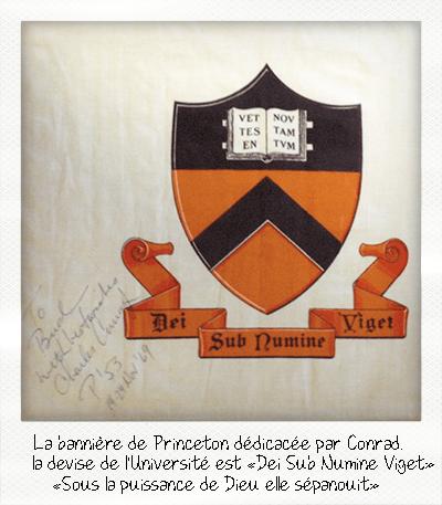 Bannière Princeton sur la Lune