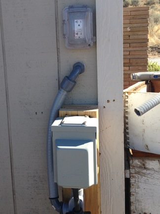 outdoor Wiring To Shed on