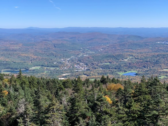 A view of Ludlow from the fire tower.