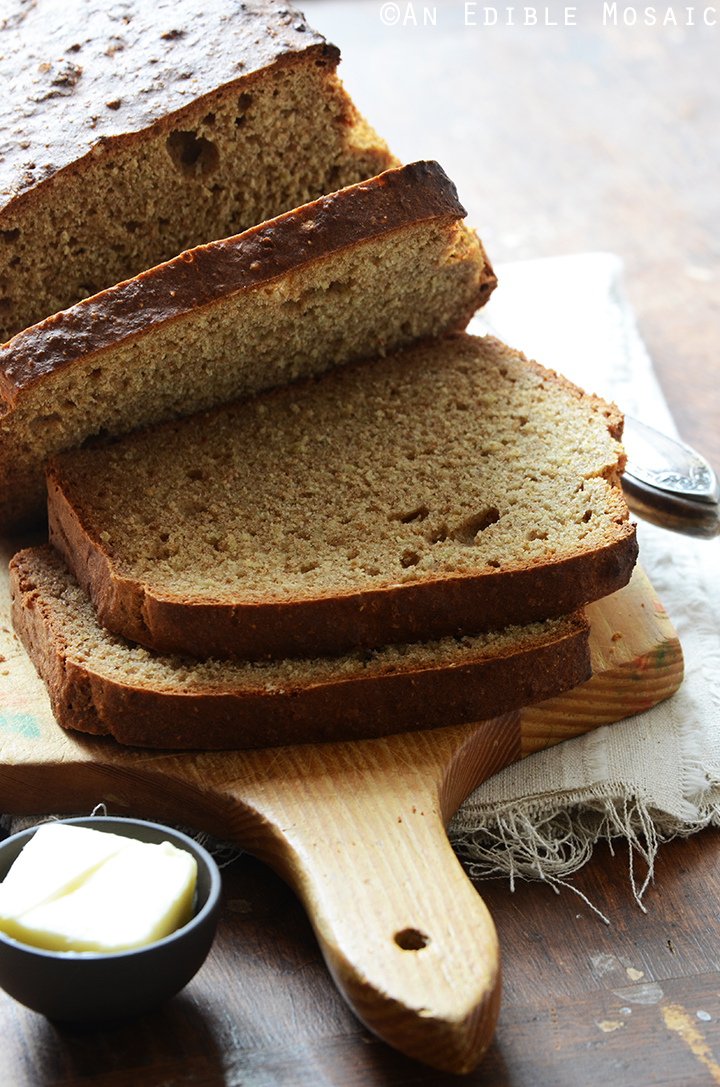Irish Brown Soda Bread 2