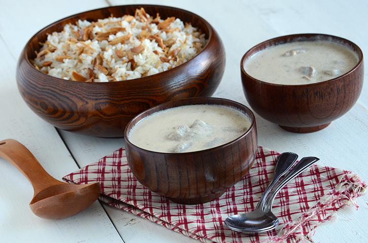 Shakriya arabic meat in yogurt sauce an edible mosaic meat in yogurt sauce 2 forumfinder Gallery