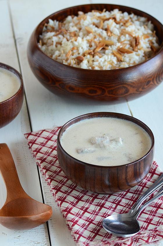 Shakriya arabic meat in yogurt sauce an edible mosaic forumfinder Gallery