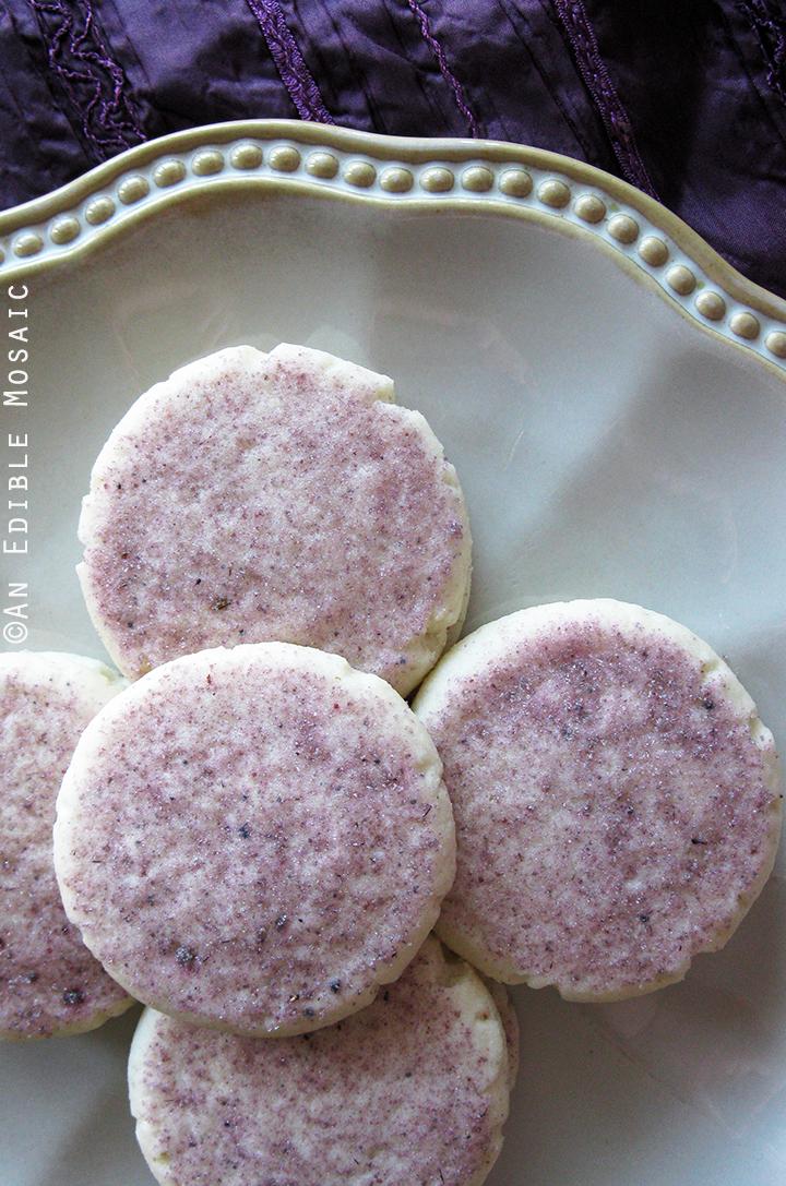 Lavender Shortbread Cookies 1