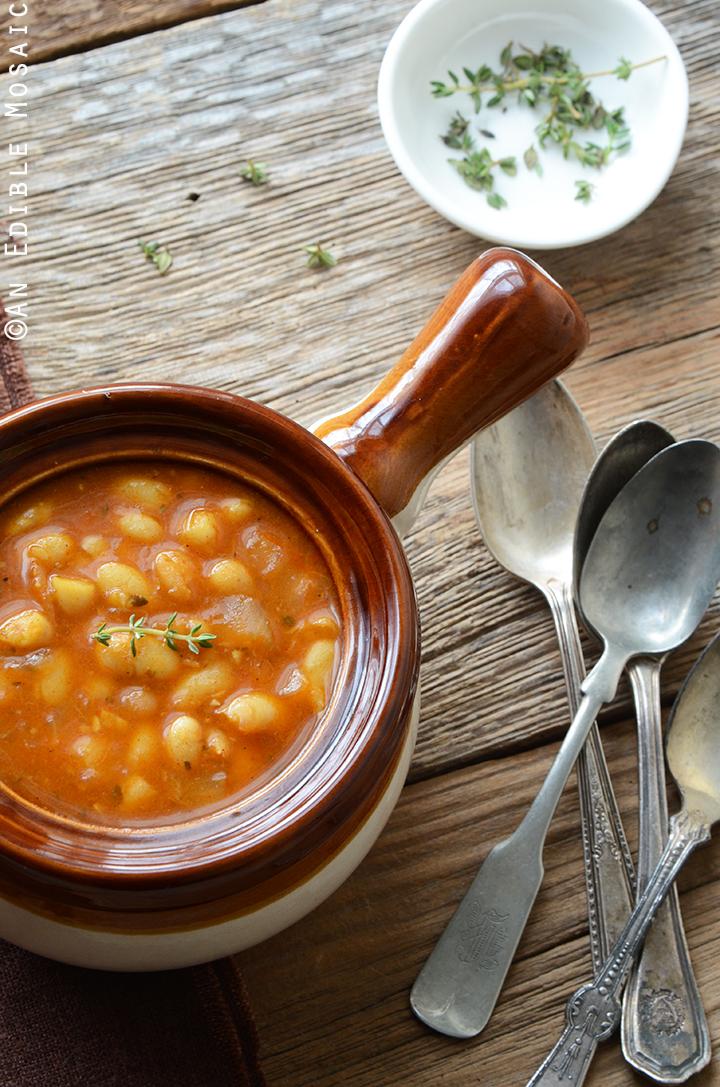 Smoked Paprika White Bean Stew