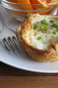 Baked Eggs in the Basket