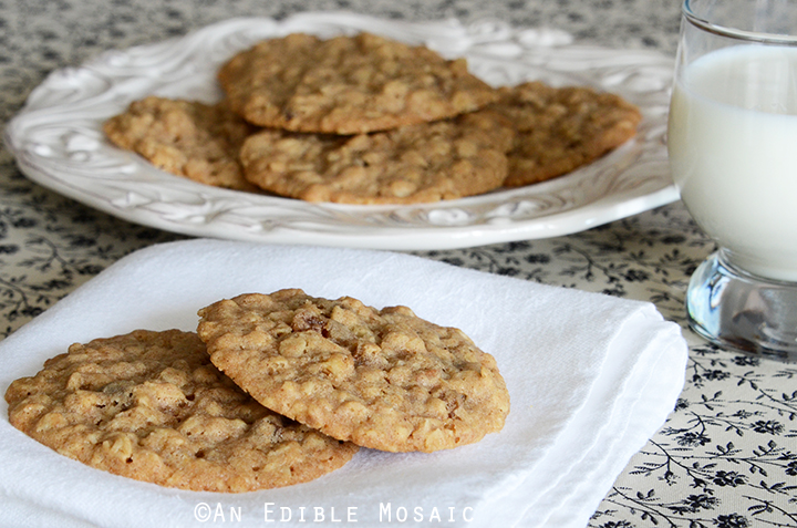 Oatmeal Raisin Cookies 1
