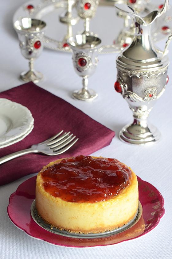 Greek Yogurt Cheesecake for Two 2