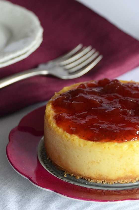 Greek Yogurt Cheesecake for Two