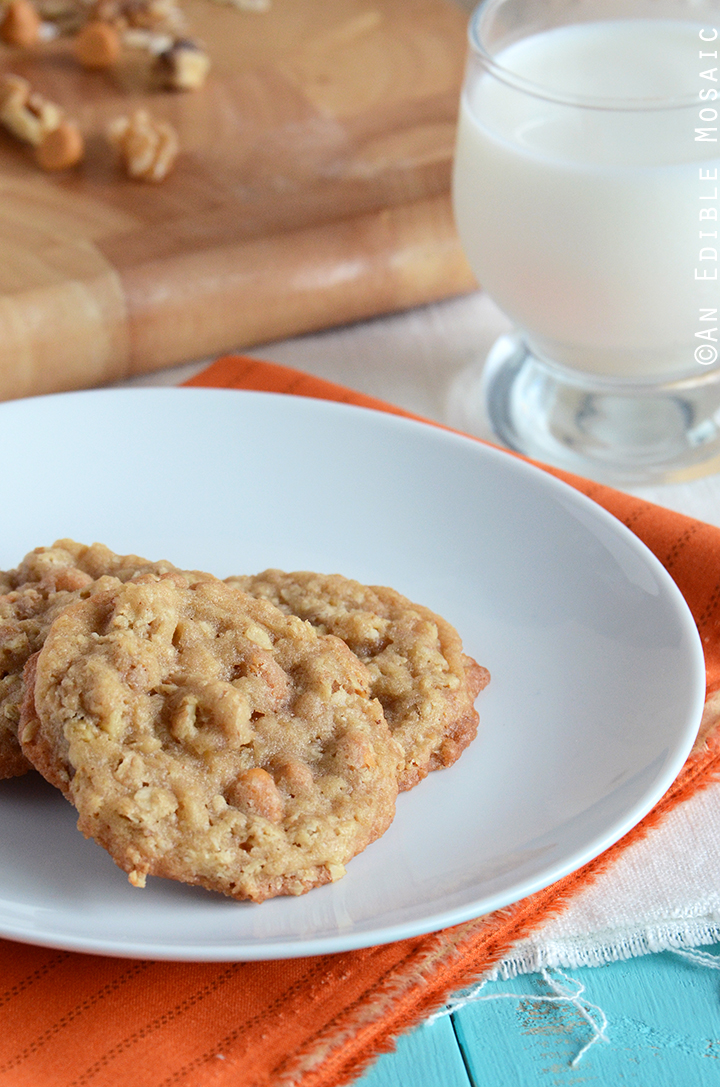 Butterscotch Oatmeal Cookies 1