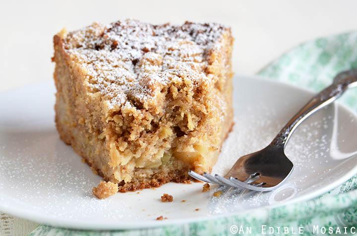 Apple Pear Crumb Cake An Edible Mosaic