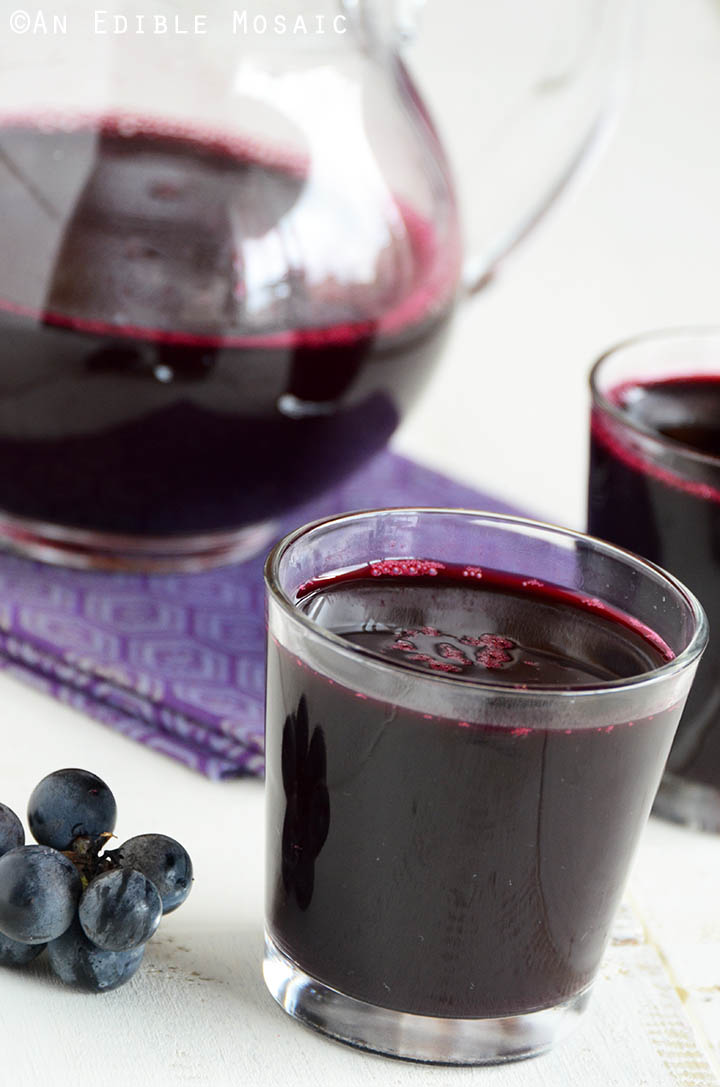 Homemade Concord Grape Juice 2