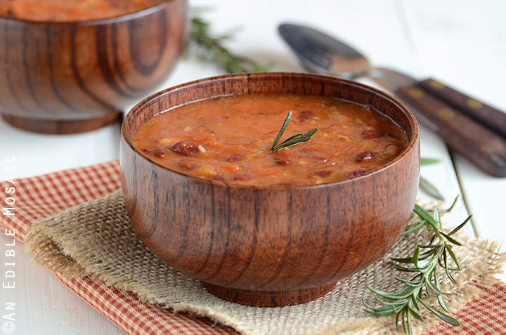 Rosemary Red Bean Soup 2
