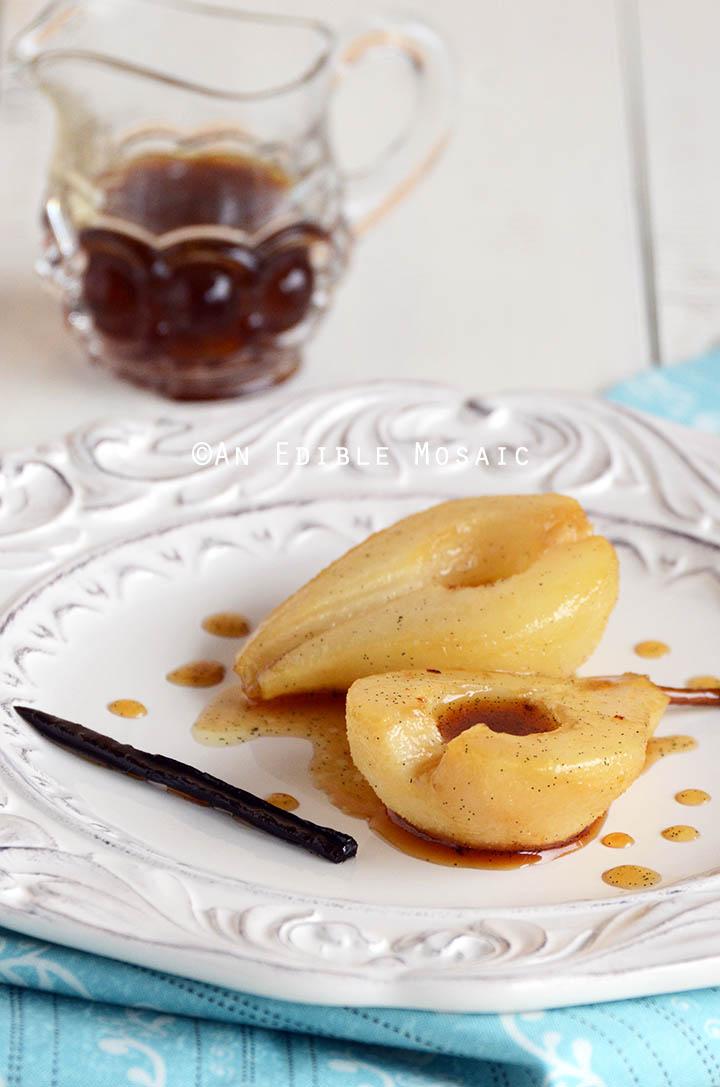 Vanilla Roasted Pears 2