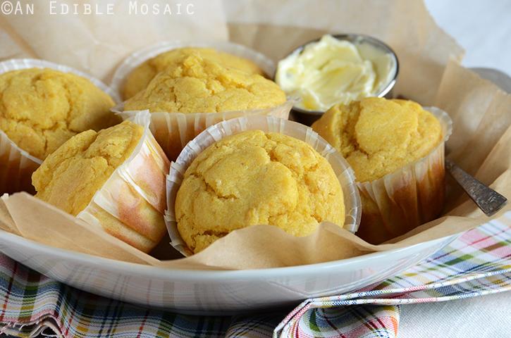 Creamed Corn Cornbread Muffins 3