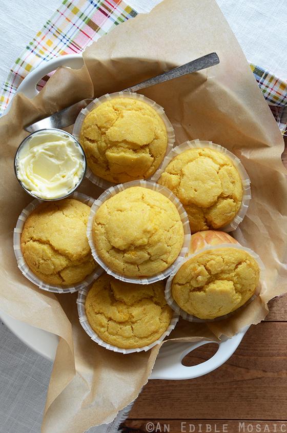 Creamed Corn Cornbread Muffins