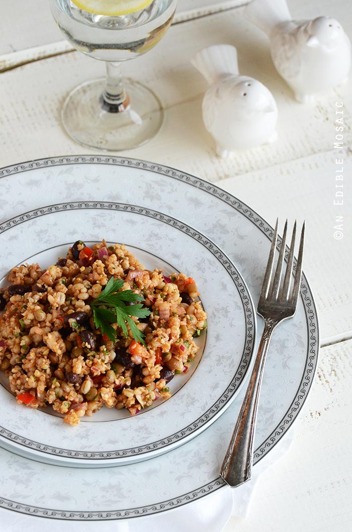 Bean and Barley Salad 2