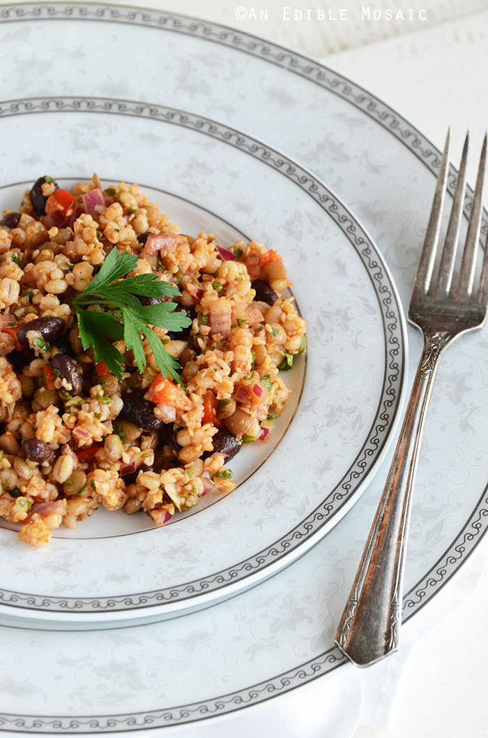 Bean and Barley Salad