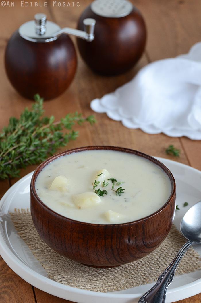 Creamy Potato Onion Soup 2