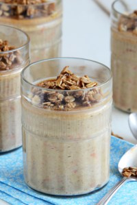 A Recipe Contest — Peanut Butter & Oat Carrot Cake Breakfast Pudding with Candied Oats