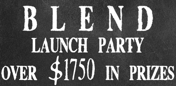 chalkboardlogo - launch party