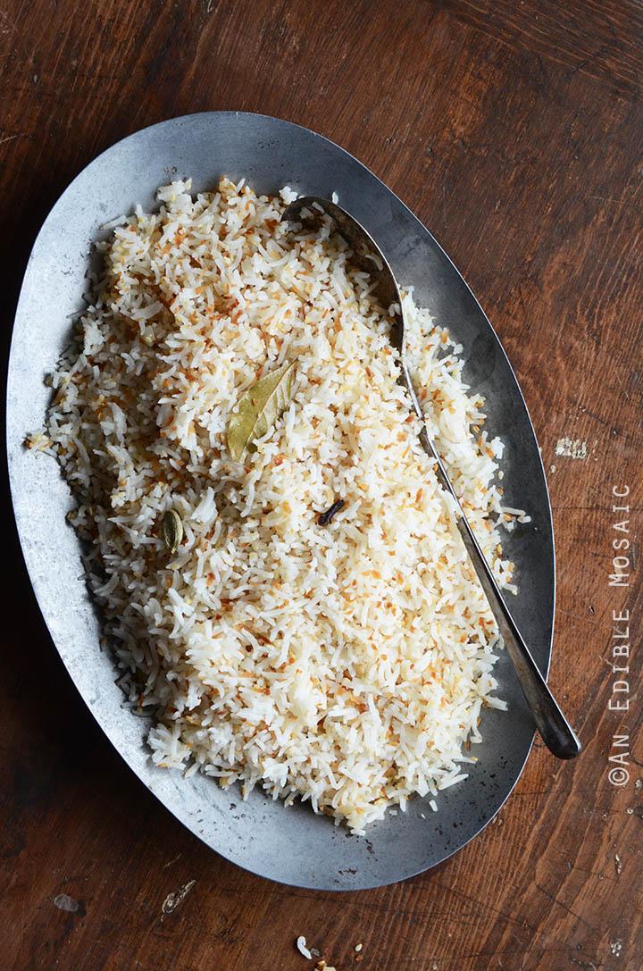 Coconut-Sesame Rice 1