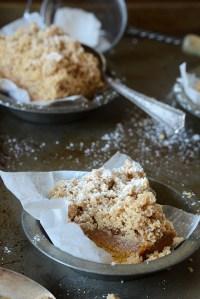 Pumpkin New York-Style Crumb Cake