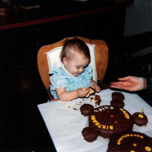 Faith's First Birthday