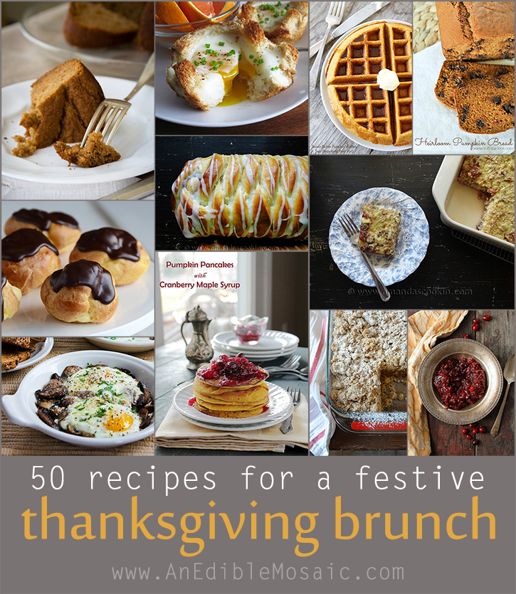 50 Recipes for a Festive Thanksgiving Brunch